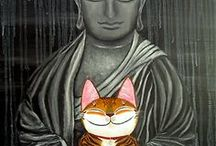 The Zen Art of Cat Living / Each moment is the universe...