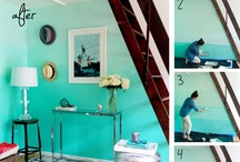 Wall Treatments / Paint techniques and wallpapers that strike my fancy.  / by Bethany Krafels