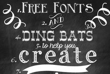 Fonts & Printables / by Angie Emond