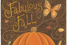 Fall, Halloween, and Thanksgiving  crafts & ideas / by Dianne Holland