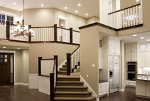 Grand Entrance / Entry way, foyer, grand staircase ideas for our new home.  / by Bethany Krafels