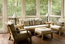Space To Live In  / Living room ideas for our new home. / by Bethany Krafels