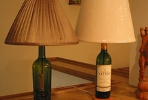 DIY Re-Purposed Wine & Liquor Bottles / by Angie Emond