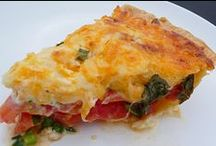 Main Dish - Savory Pie and Quiche Recipes