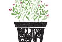 Bring On  Spring / Spring themed holidays, decor, recipes, gardening, flowers, fashions...  we're just celebrating everything SPRING / by She Wanders 2
