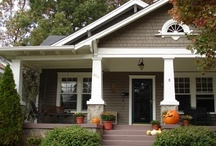 home | exteriors / by Jamie Downs