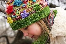 cowl,scarf, neckwarmer, shawl,hats, mittens / by Monika Opatril
