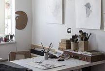 Work Spaces  / by Leila Badsha