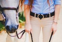 Equestrian Style / Get your style on with some of these great equestrian/horse/country themed clothing ideas!