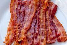 Meat: Bacon / Bacon gets its OWN meat board... / by Carmen Carol
