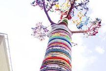 Streetart, yarnbombing and moss / by Stine Elle