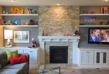 our home | living room / by Jamie Downs