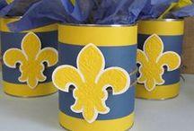 Scouts - Blue & Gold Banquet Ideas / by Miranda Hancock