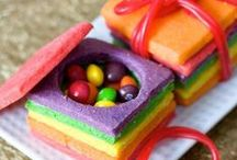 All things Rainbow!!! / Rainbow treats for all entertaining...