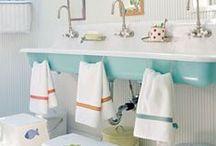 our home | kiddos bath / by Jamie Downs