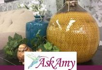 Home Decor / Ask Amy Home Furnishings in Botkins, Ohio carries multiple vendors of home decor. Searching for a new decor scheme or just a filler piece? We have options for you!