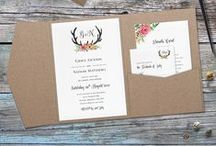Stationery: Save the Dates & Invitations