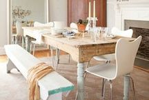 SPACES FOR DINING / Make your dining space a feast for the eyes!