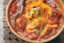 Chili Recipes / Warm up with these hearty chili recipes. / by Taste of Home