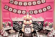 Birthday Party: Zebra / Zebra birthday party / by Julia Quintero