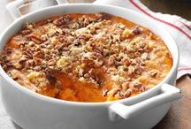 Sweet Potato Recipes / These sweet potato recipes are perfect for Thanksgiving dinner or any fall meal. Find ideas for sweet potato pie, sweet potato casserole, and more recipes for baked sweet potatoes from Taste of Home.
