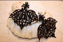 macramè earrings handmade