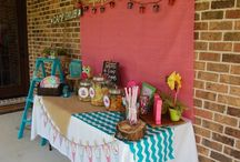 Morgans Birthday!  / Girls Glamping Party / by Hollie McGee