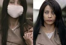 Kuchisake-Onna Cosplay / Ideas for my costume of the Slit-mouthed Woman, a Japanese yokai (demon). / by Aubrey Weirick