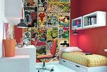 Home: Superhero Bedroom / Superhero bedroom ideas / by Julia Quintero