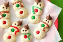 Snowman Treats / Snowman shaped recipes for holiday cheer from Taste of Home.