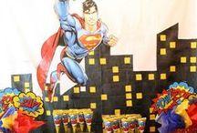 Birthday Party: Superhero / by Julia Quintero
