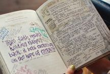 Journaling <3 / Journaling is my way to get rid of stress..