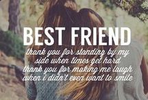 To my Best Friends <3 / To the people who have stayed by my side even when i was hard to handle..