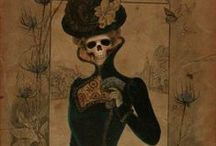 ~Dark Art~ / I absolutely love horror and it takes real creativity to use it to create art. / by Aubrey Weirick