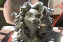 Clay Character Design References / Character Art & Design in any type of clay Maquestte Sculpting for Animation, Stop-motion
