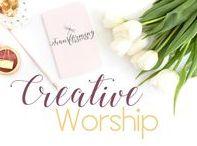 C R E A T E / Bible art, Bible journaling, Bible reading plans, creative worship of Jesus