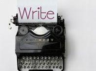 W R I T E / All things writing