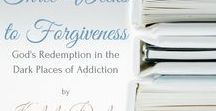 Three Weeks to Forgiveness - Available on Amazon / What would you do if your estranged, homeless, alcoholic father suddenly showed up at your door? What if you knew in three weeks you would be saying good-bye to him forever? One daughter knows deep down that her only choice, for the sake of Christ, is to forgive—but how? In Three Weeks to Forgiveness, author Kimberly Dewberry addresses distinctive ways to identify forgiveness and create a healthy life through Jesus Christ.