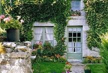 Green cottages