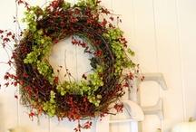 Wreaths and garlands