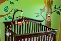 Nursery Design Inspiration / Creative a delightful space for your new addition with FrogTape®.