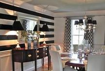 Dining Room Designs / Reflect your personal style at every meal with a beautifully painted dining room.