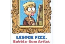 Lester Fizz, Bubble-Gum Artist / I LOVE to see teachers and their students inspired by my book. The way I see it, we are ALL artists. Here are some ideas for inspiration!
