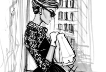 """Art of Fashion Illustration / """"Be daring, be different, be impractical, be anything that will assert integrity of purpose and imaginative vision against the play-it-safers, the creatures of the commonplace, the slaves of the ordinary."""""""