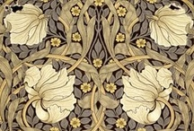Pleasure of Pattern: Wm Morris / Pattern designs starring William Morris & others from the Arts & Crafts movement. / by Frani Marek Janci