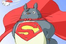 We love Totoro / #totoro #japan #kawaii #movie #ghibli #obake #kids #cute #love #Miyazaki #neighbor #animation #studio #cool #stuff / by susiwan