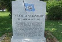 My Home Town / Lexington is a city in Lafayette County, Missouri, United States. The population was 4,726 at the 2010 census. It is the county seat of Lafayette County. Located in western Missouri, Lexington lies about 40 miles east of Kansas City and is part of the Greater Kansas City Metropolitan Area. It is the home of the Battle of Lexington State Historic Site, and Wentworth Military Academy and College, the oldest military school west of the Mississippi River opened in 1880.