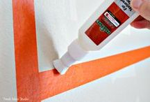 FrogTape Textured Surface / FrogTape® Textured Surface is your sharp paint line solution for most common textured surfaces!  / by FrogTape