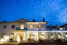 Kesgrave Hall / Enjoy the expansive terrace and sweeping lawns at the luxurious Kesgrave Hall. This boutique hotel is close to Ipswich, Suffolk and just 20 minutes from the coast.