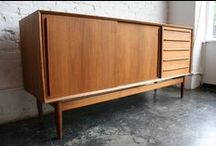 Ah, credenzas / All these pieces have been sold by or are currently available from mid2mod.com. Check the website for availability.